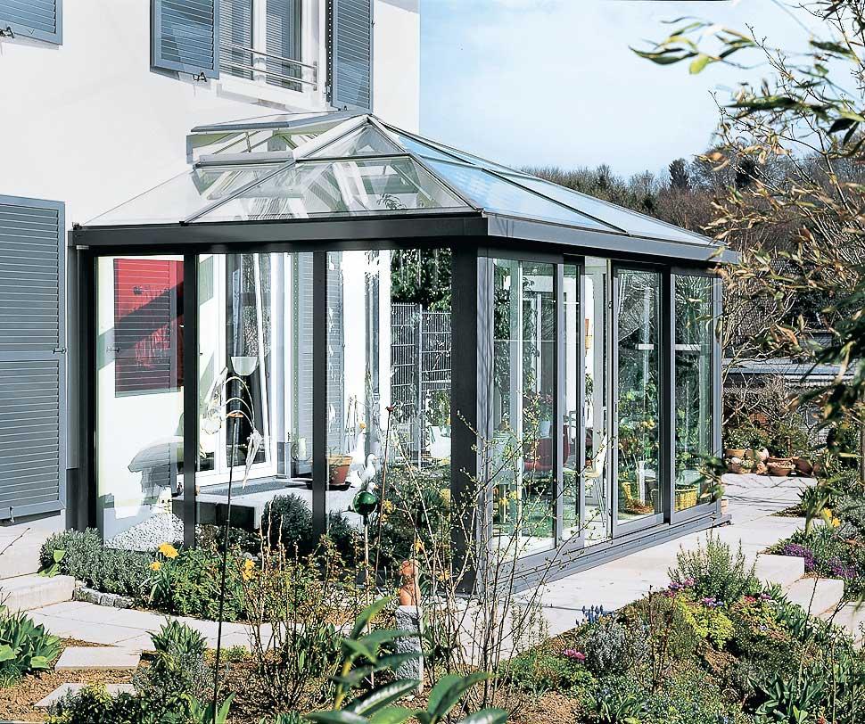 Glasdörrar säljs av Gefle Aluminiumsystem
